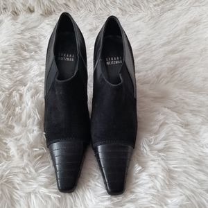 Stuart Weitzman Suede and Leather Shoes, 6.5M